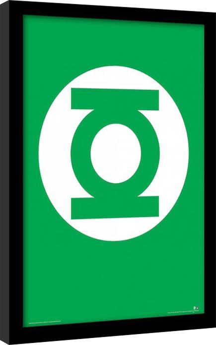 DC Comics - The Green Lantern Poster Emoldurado