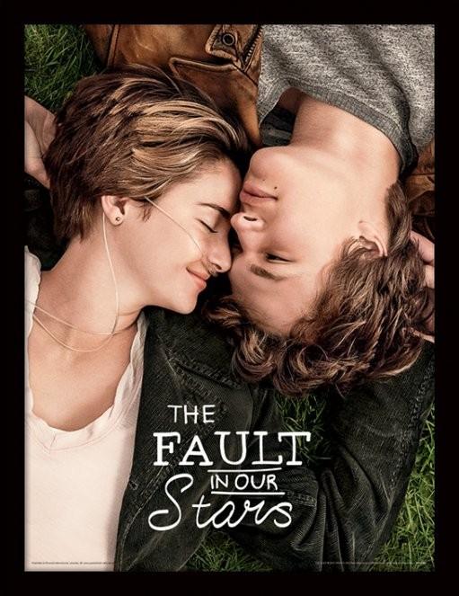 The Fault In Our Stars - One Sheet Poster emoldurado de vidro