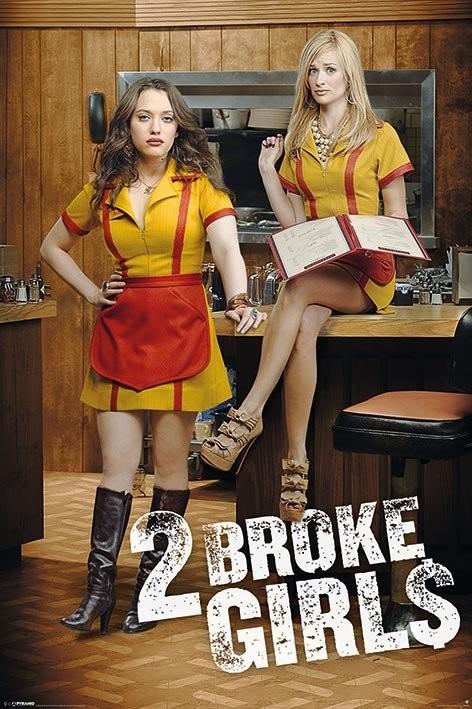 2 broke girls bilder