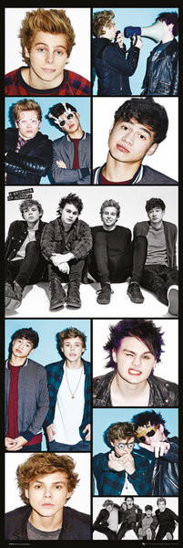 5 Seconds of Summer - Grid Poster