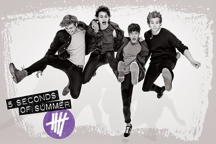 5 Seconds Of Summer Jump Poster