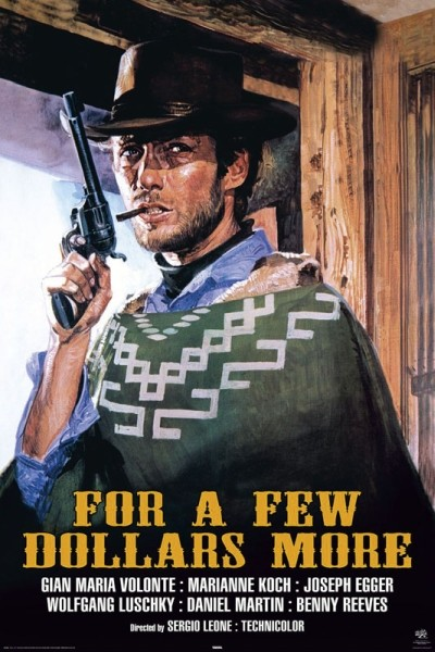 A FISTFUL OF DOLLARS, 1964 Poster