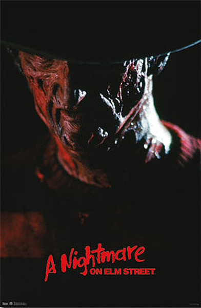 A NIGHTMARE ON ELM STREET Poster, Art Print