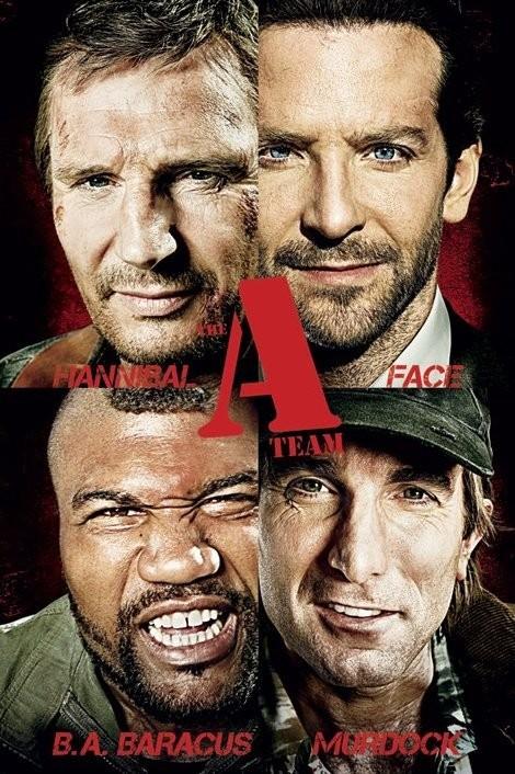 Poster A-TEAM - teaser