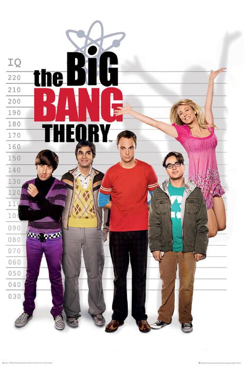Poster A Teoria do Big Bang - Medidor de QI