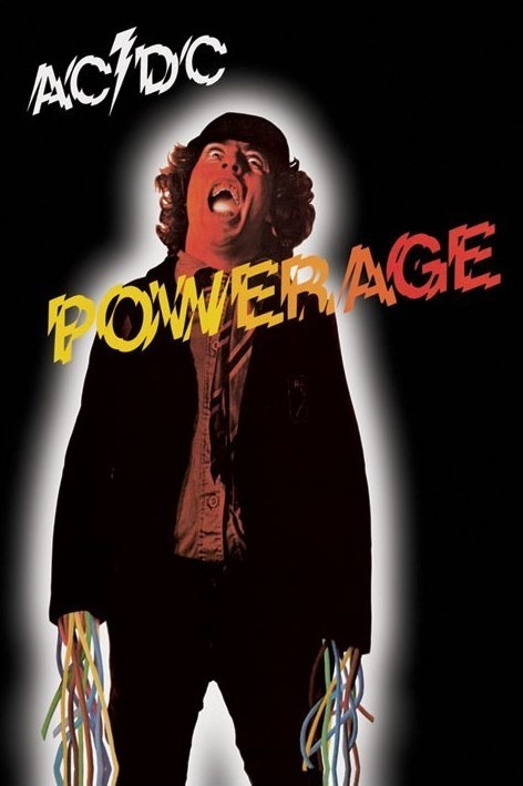 ac dc powerage poster sold at europosters. Black Bedroom Furniture Sets. Home Design Ideas