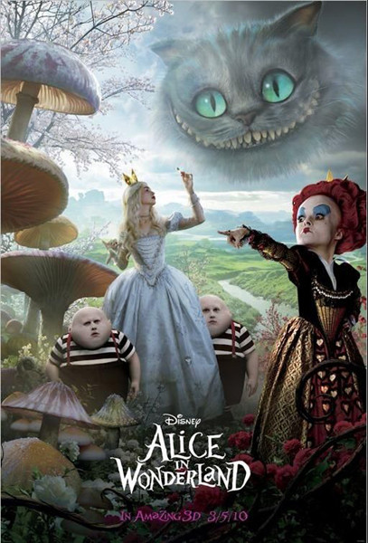 poster quadro alice in wonderland cast em europosters pt