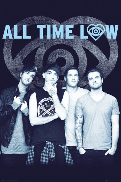 Poster All Time Low - Colourless