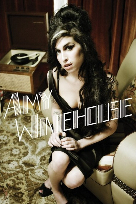 Amy Winehouse - stereo Poster, Art Print