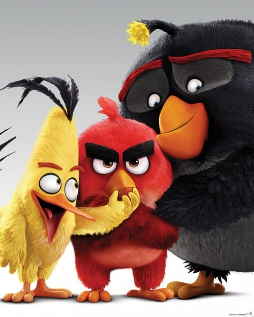 Angry Birds - Characters Poster