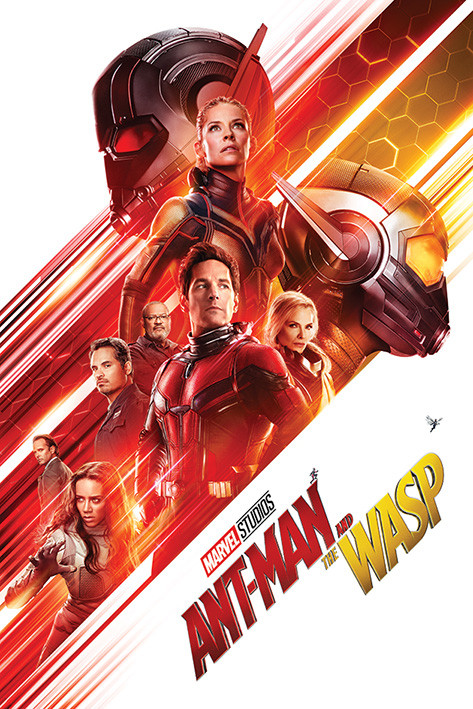 Ant-Man and The Wasp - One Sheet Poster | Sold at Europosters