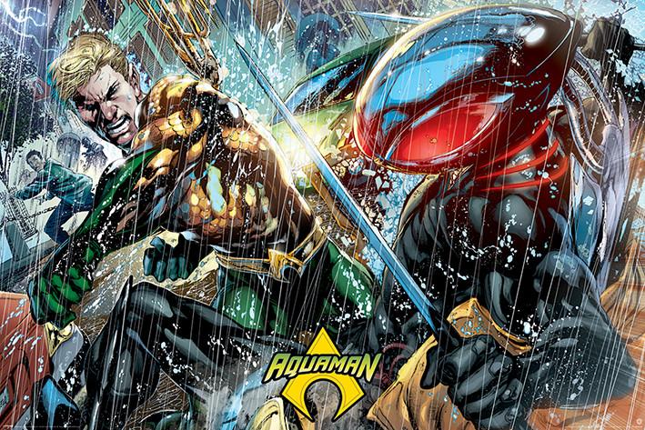 Aquaman - Atlantean Punch Poster