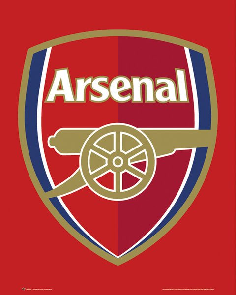 Pôster Arsenal FC - Club crest