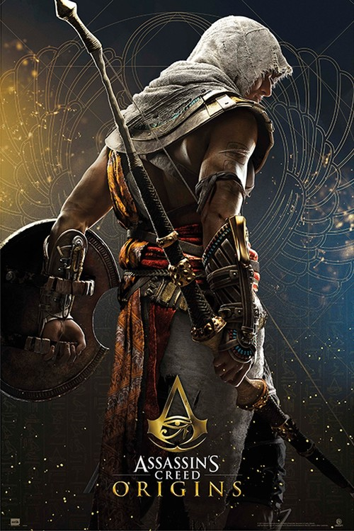Assassin's Creed - Origins Hero Poster