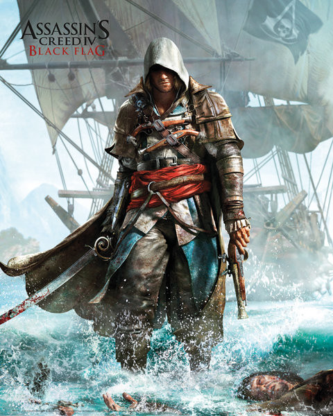 Assassin S Creed 4 Shore Poster Sold At Europosters