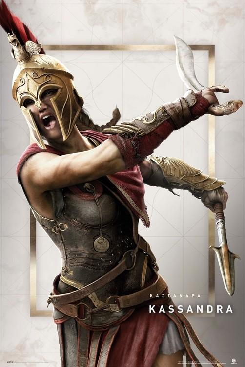 Poster Assassin's Creed: Odyssey - Kassandra