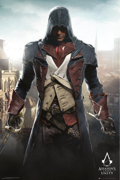 Assassin S Creed Unity Cityscape Poster Sold At Abposters Com