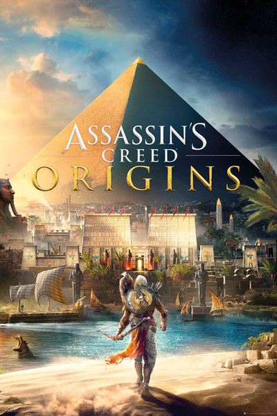 Assassins Creed Origins Cover Poster Sold At Europosters