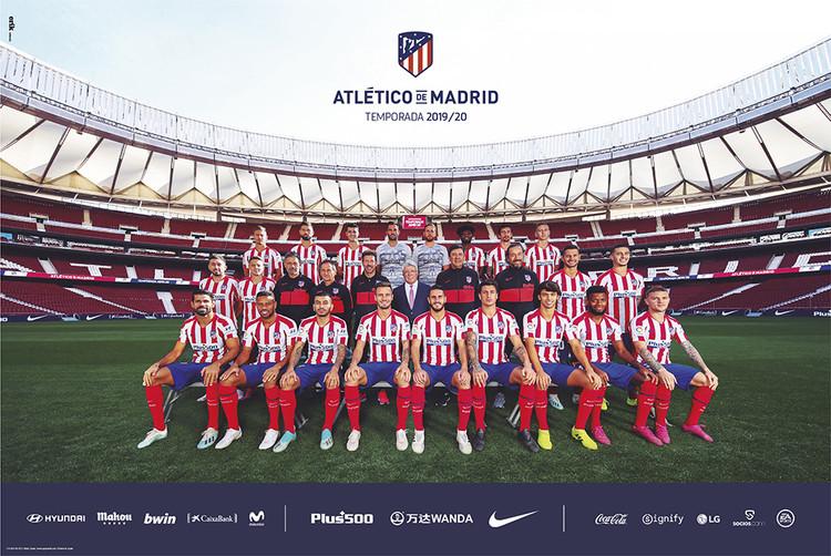 Atletico De Madrid 2019/2020 - Team Poster