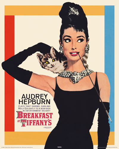 Audrey hepburn breakfast at tiffany 39 s poster sold at for Breakfast at tiffany s menu