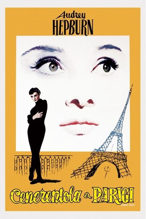 audrey hepburn funny face poster sold at europosters. Black Bedroom Furniture Sets. Home Design Ideas
