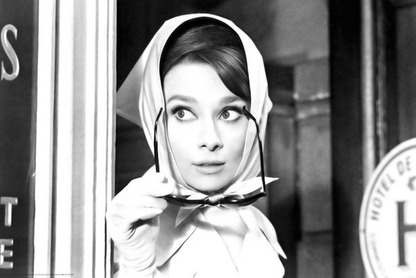 AUDREY HEPBURN - scarf Poster | Sold at Europosters