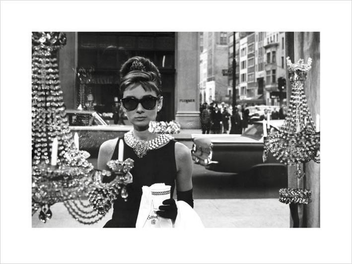 Audrey Hepburn - Window Art Print