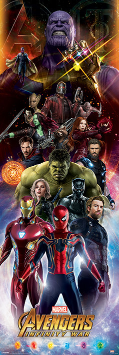 Poster  Avengers Infinity War - Characters