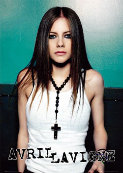 Pôster Avril Lavigne - cross