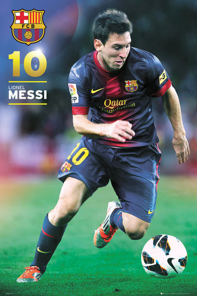 Barcelona Messi 12 13 Poster Sold At Europosters