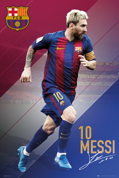 Poster Barcelona - Messi 16/17