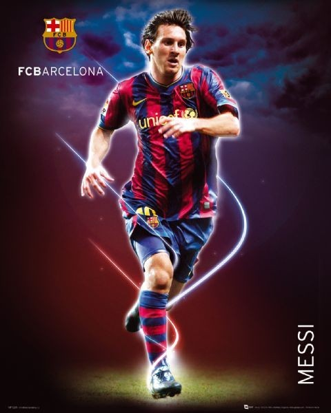 25852bcc200 Barcelona - Messi Poster