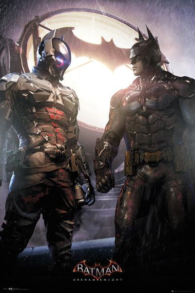 Batman Arkham Knight - Arkham Knight and Batman Poster