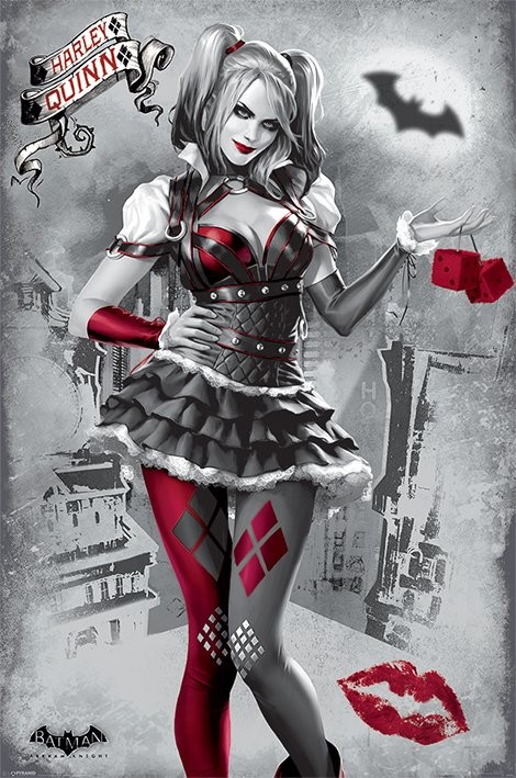 batman arkham knight harley quinn poster sold at abposters com