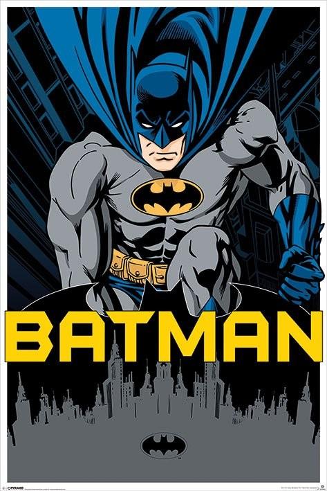 batman city poster sold at europosters. Black Bedroom Furniture Sets. Home Design Ideas