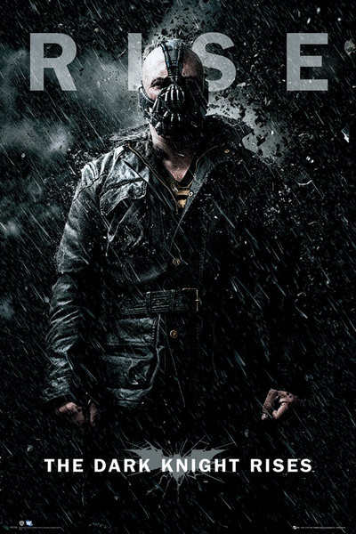 Poster BATMAN DARK KNIGHT RISES - bane rise
