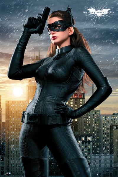 Poster Quadro Batman Dark Knight Rises Catwoman Em Europosters Pt
