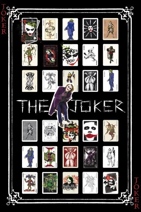 BATMAN - joker pack Poster