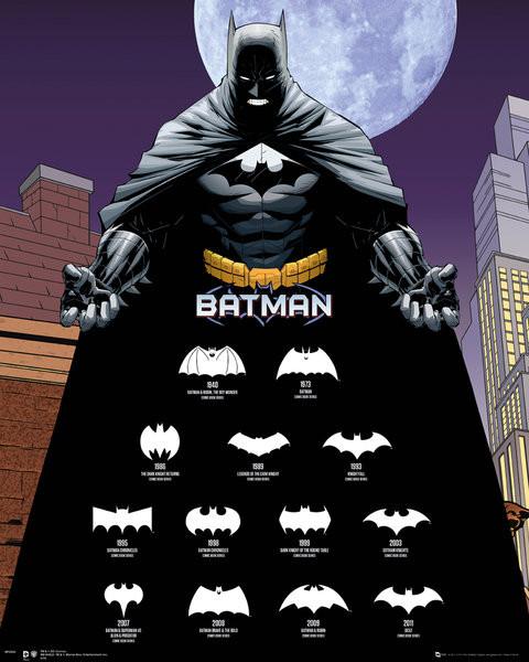 Poster Batman - Logos