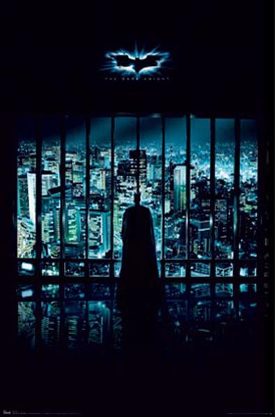 BATMAN THE DARK KNIGHT - gotham city Poster
