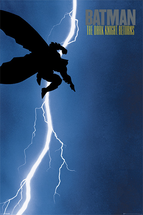 batman the dark knight returns poster sold at
