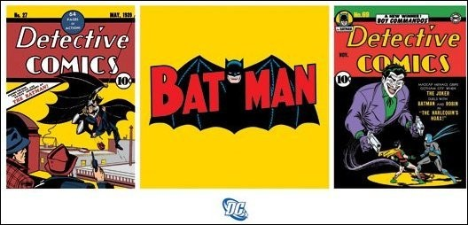 Batman - Triptych Art Print