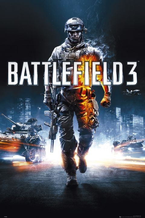 Battlefield 3 Cover Poster Sold At Ukposters