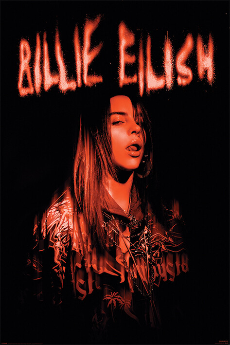 Billie Eilish - Sparks Poster