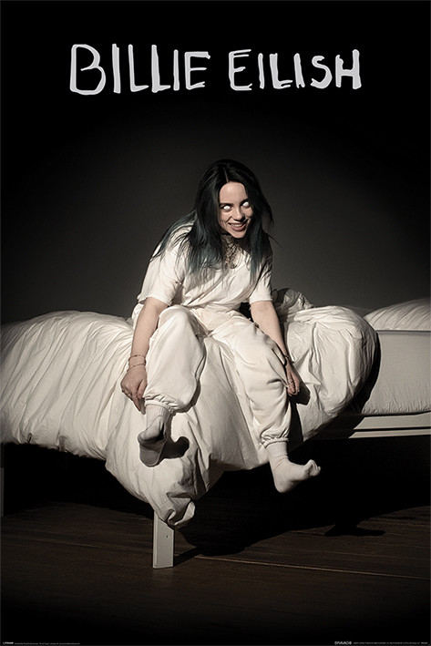 Billie Eilish - When We All Fall Asleep Where Do We Go Poster