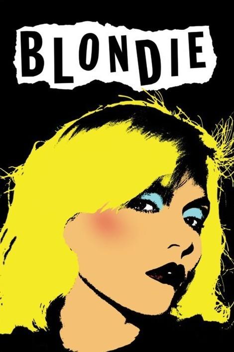 Blondie - punk Poster