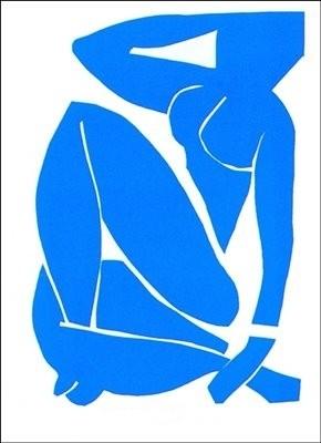 Blue Nude III, 1952 - Henri Matisse Art Print