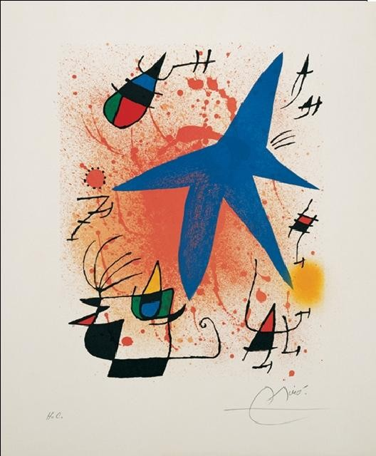 Blue Star, 1972 Art Print
