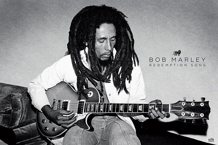 Pôster Bob Marley - Redemption Song