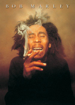 Bob Marley - spliff Poster